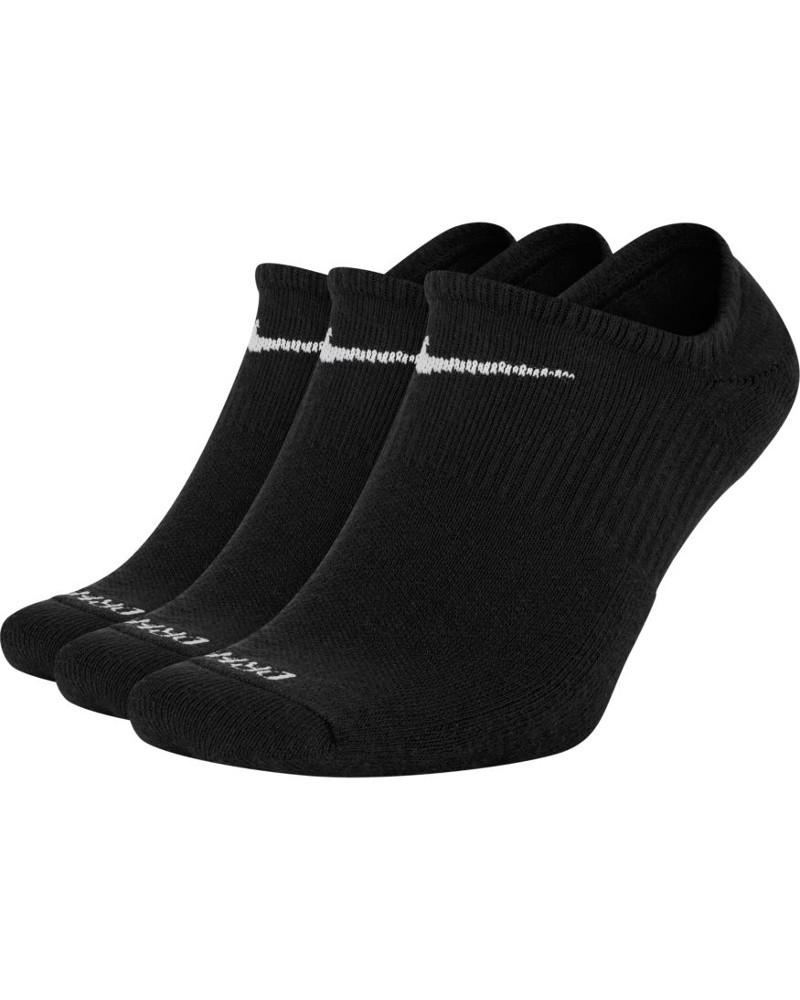 Nike Calze calzini Fantasmini Nike Everyday Plus Cushioned 3 paia Unisex Nero 0