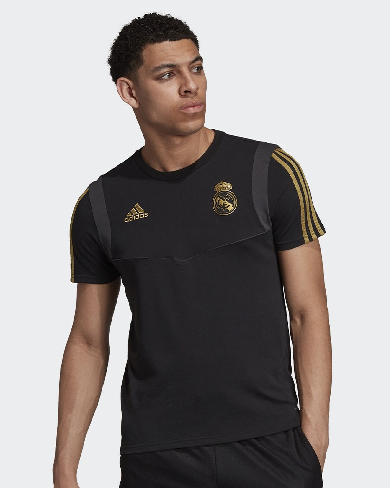 Real Madrid Adidas Maglia Allenamento Training Tee Uomo Nero 2019 20 0