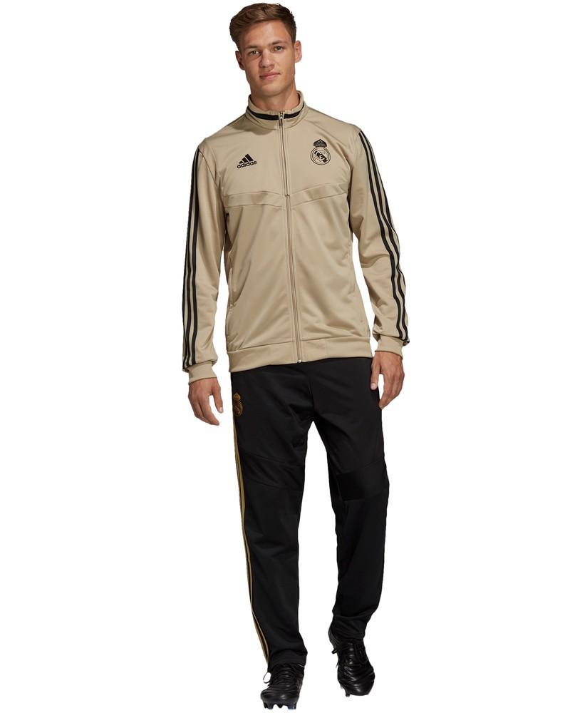 Real Madrid Adidas Tuta Sportiva Training Tracksuit Pes Versione Panchina 2020 0