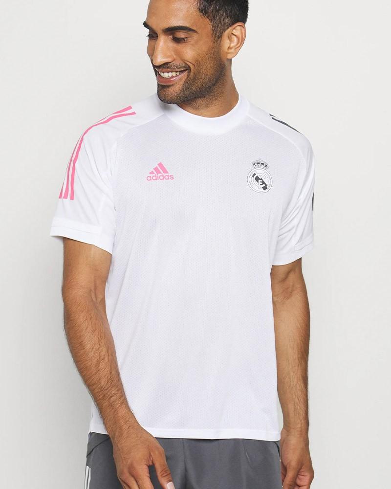 Real Madrid Adidas Maglia Allenamento Training UOMO 2020 21 Bianco AEROREADY 0