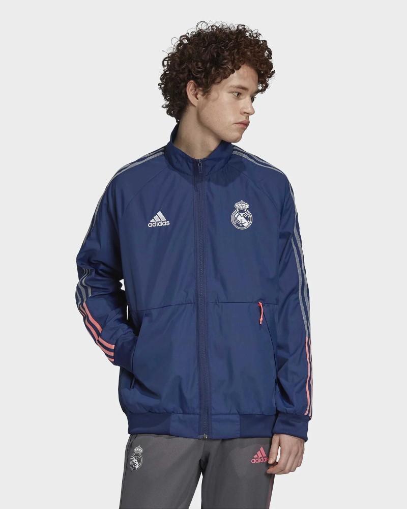 Real Madrid Adidas Giacca tuta Blu Stadium Pre Match Anthem 0