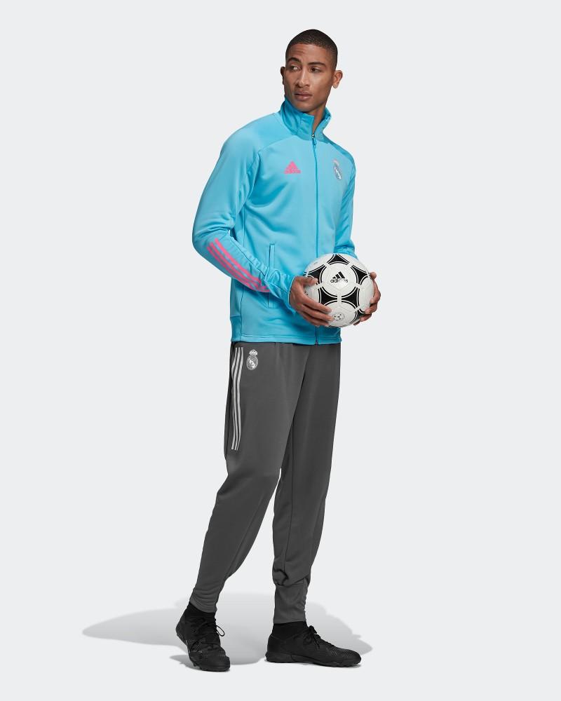 Real Madrid Adidas Tuta Intera Allenamento Training UOMO Azzurro AEROREADY 0