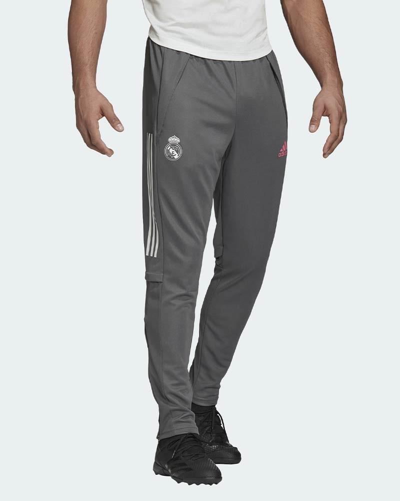 Real Madrid Adidas Pantaloni tuta Allenamento UOMO Grigio AEROREADY 2020 21 0