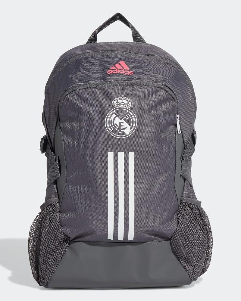 Real Madrid Adidas Zaino Bag Backpack Grigio 2020 21 0