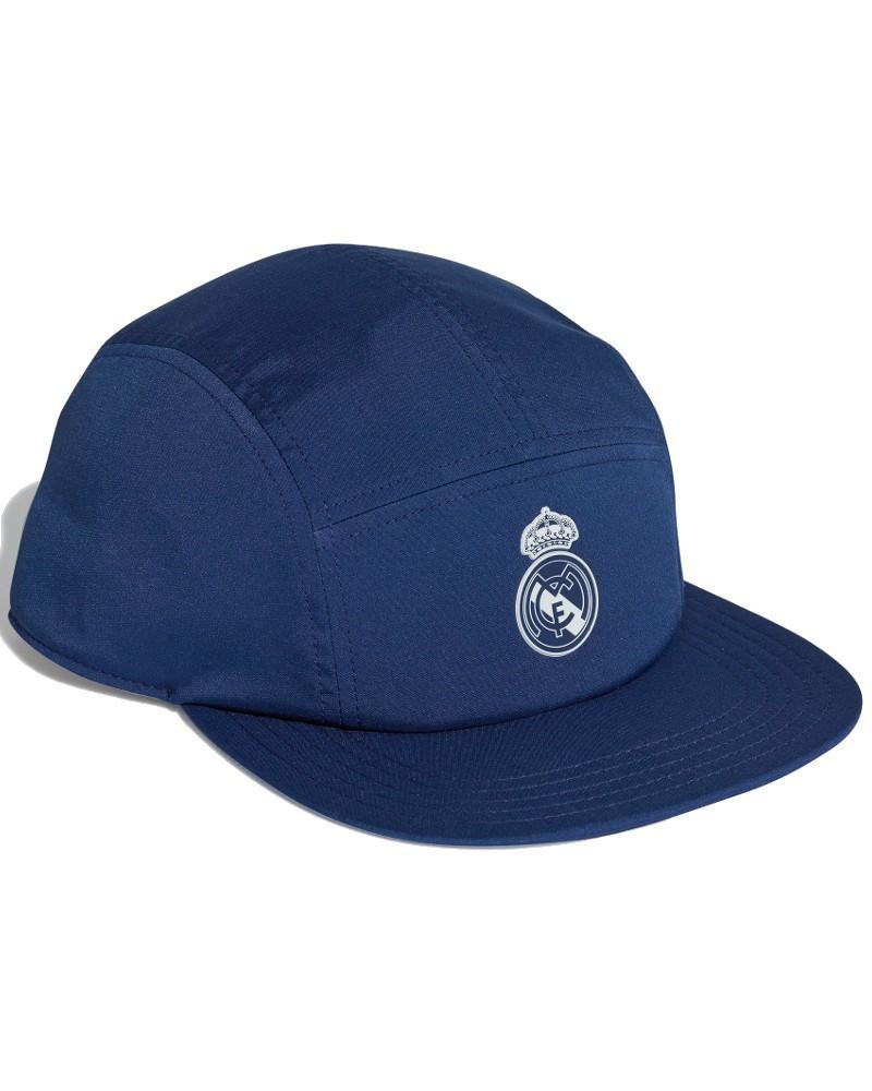Real Madrid Adidas Cappello Berretto Unisex Blu 5 Panel Flat sport lifestyle 0
