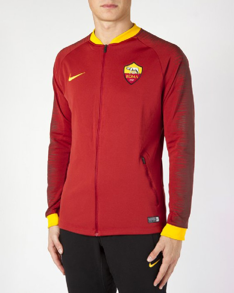 As Roma Nike Giacca Pre Gara Pre Match Jacket 2018 19 Anthem Rosso 0