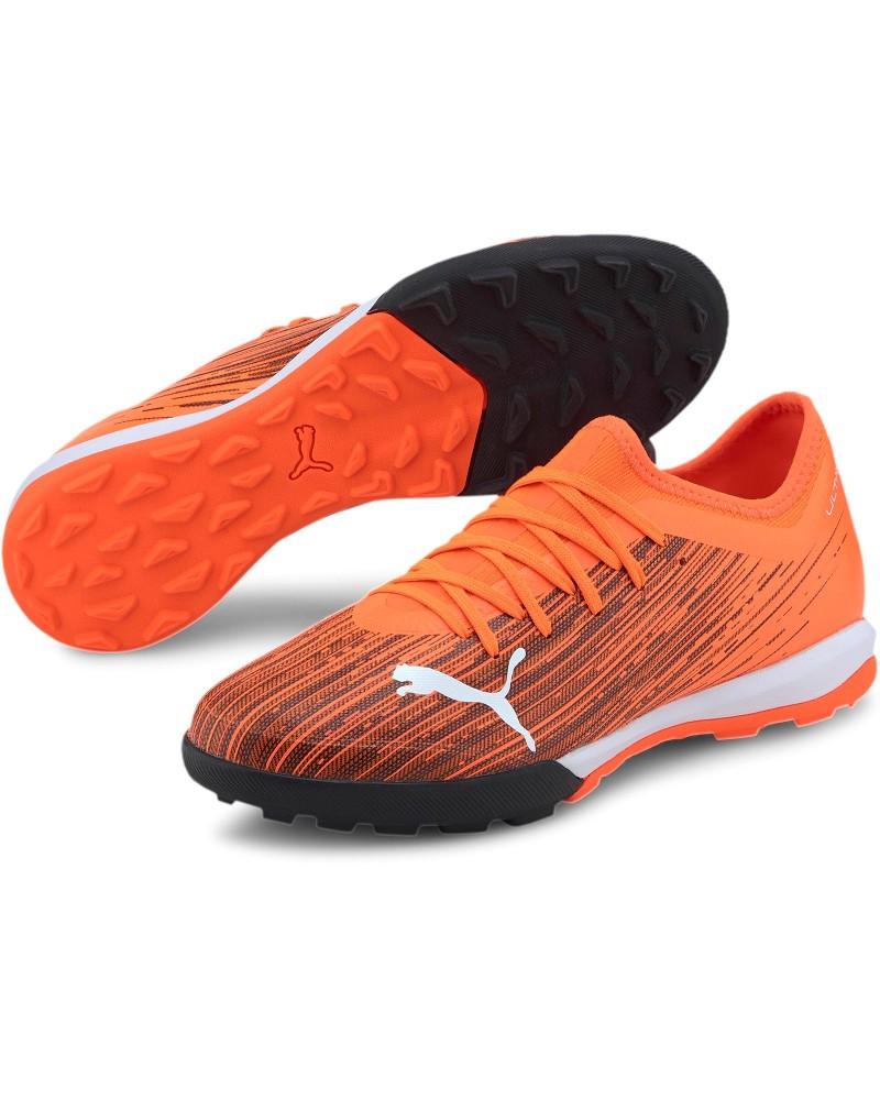 Puma Scarpe Calcio Football ULTRA UOMO Arancione Calcetto 3.1 Turf Trainers 0