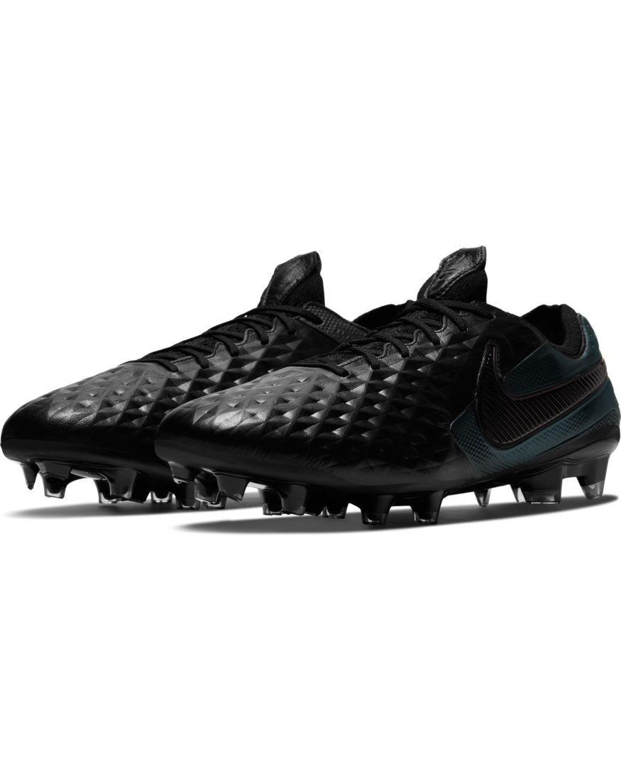 Nike Scarpe Calcio Football Tiempo Legend 8 Elite FG UOMO Nero pelle di Canguro 0