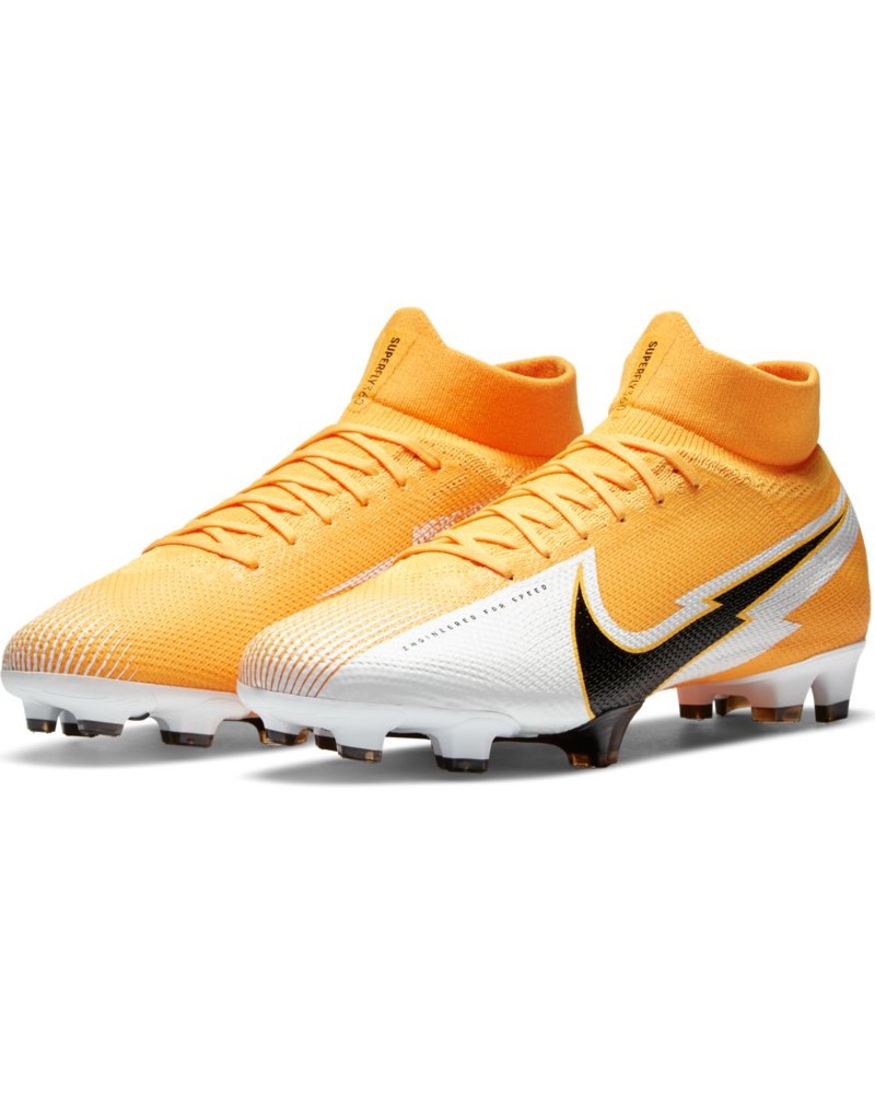 Nike Scarpe Calcio Football Mercurial Superfly 7 PRO FG UOMO Giallo 2020 21 0