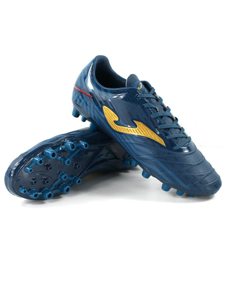 Joma Scarpe Calcio Football PROPULSION 2017 AG Artificial Grass Uomo petrolio 0