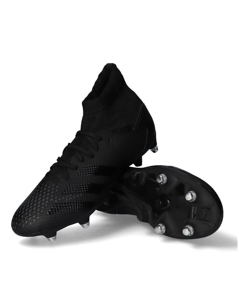 Adidas Scarpe Calcio Football Predator 20.3 SG Chiodate UOMO Nero Soft Ground 0
