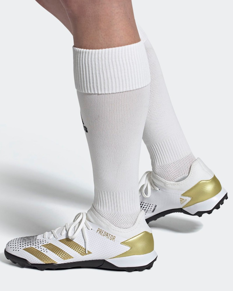 Adidas Scarpe Calcio calcetto Bianco Predator Mutator 20.3 LOW-CUT Turf 0