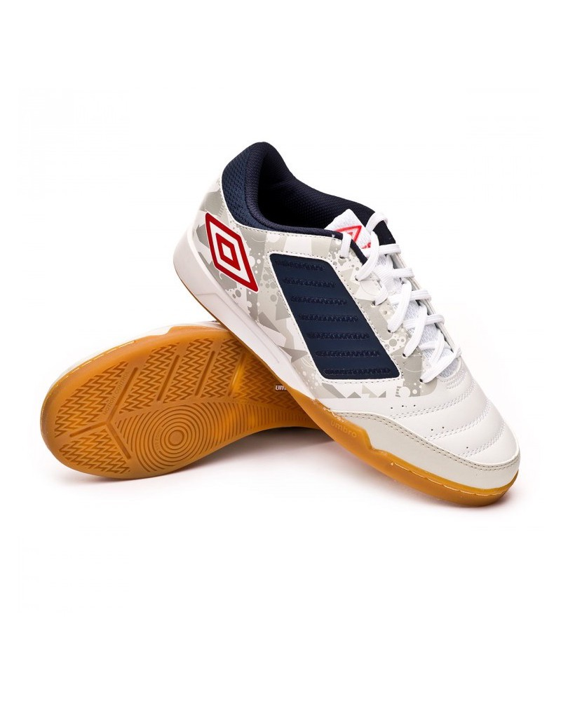 Umbro Scarpe Calcio Football CHALEIRA LIGA Bianco Indoor IC Sala Futsal parquet 0