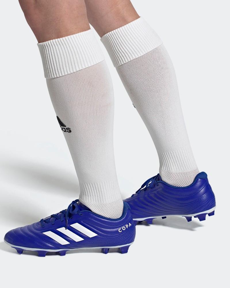 Adidas Scarpe Calcio Football Copa UOMO Blu Firm Ground FG 20.4 FG 0