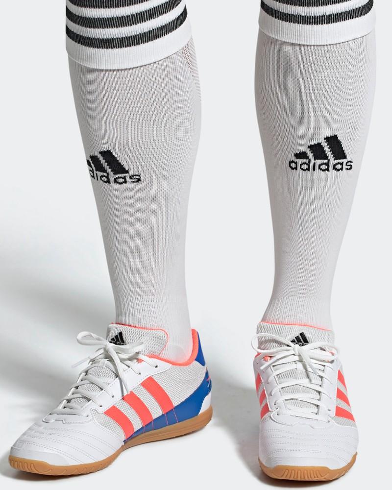 Adidas Scarpe Calcio Calcetto Super Sala UOMO Indoor Bianco 2020 21 0