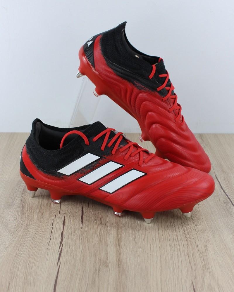 Adidas Scarpe Calcio Football Copa Rosso 20.3 SG Chiodate Uomo 2020 Vera Pelle 0