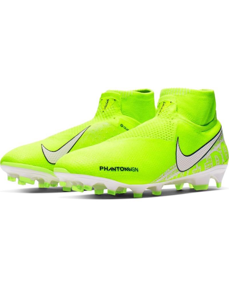 Nike Scarpe Calcio Football Phantom Vision Elite DF FG Hypervenom Giallo Fluo 0