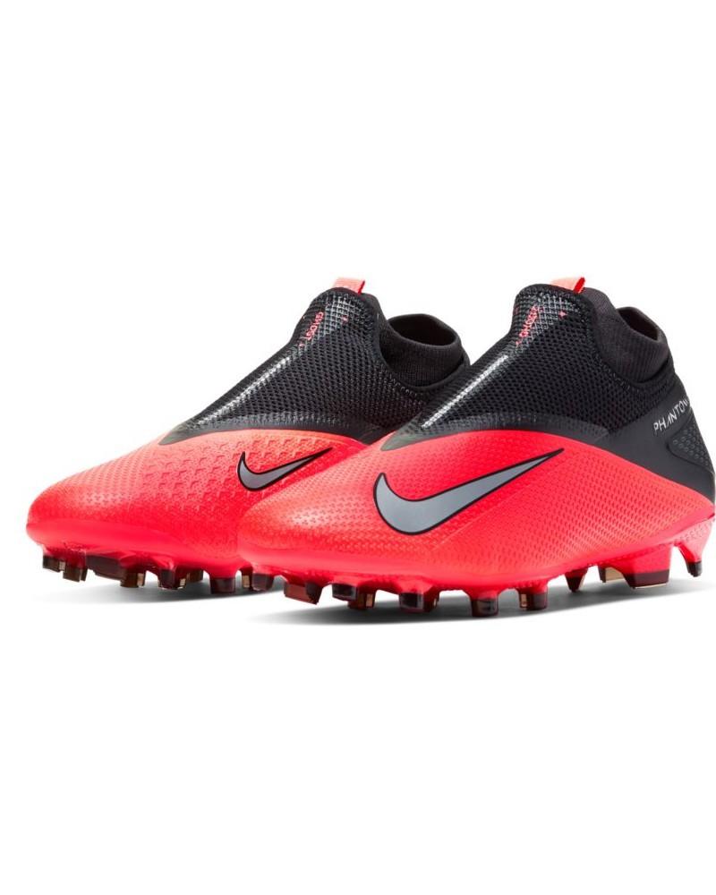 Nike Scarpe Calcio Football Hypervenom Phantom Vision 2 DF FG UOMO Rosso 0