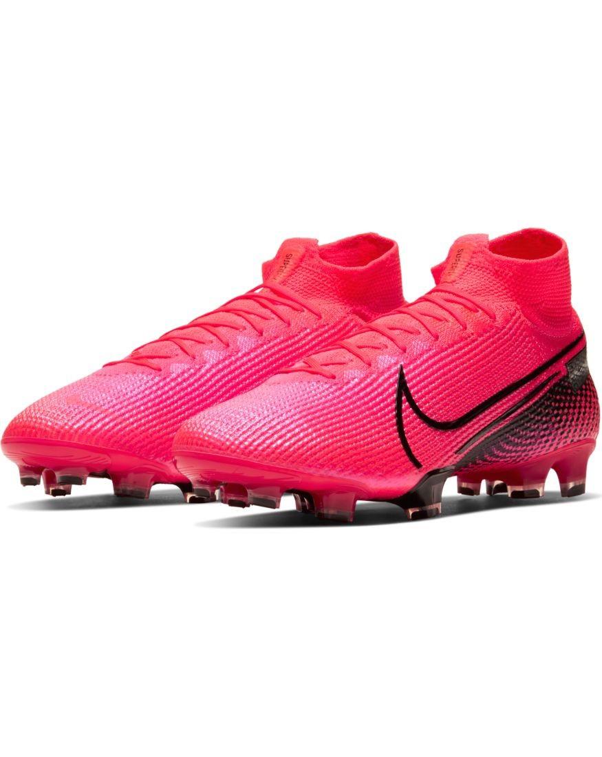 Nike Scarpe Calcio Football Superfly 7 Elite FG UOMO Rosso flyknit 0