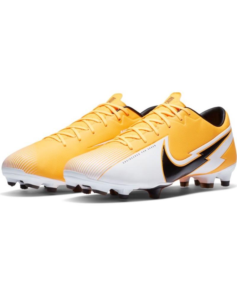 Nike Scarpe Calcio Football Mercurial Vapor 13 academy fg/mg UOMO Giallo