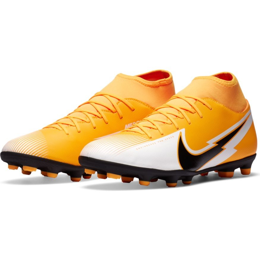 Nike Scarpe Calcio Football Mercurial Superfly 7 club fg/mg UOMO Giallo 0