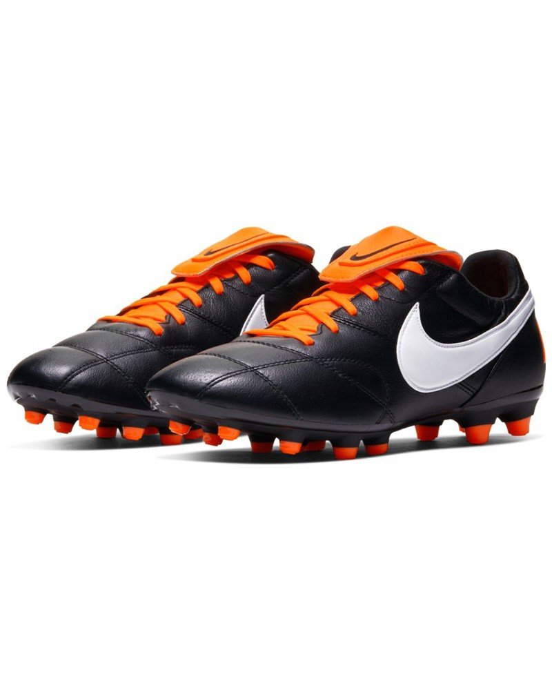 Nike Scarpe Calcio Football Premier II FG UOMO Nero Arancione 0