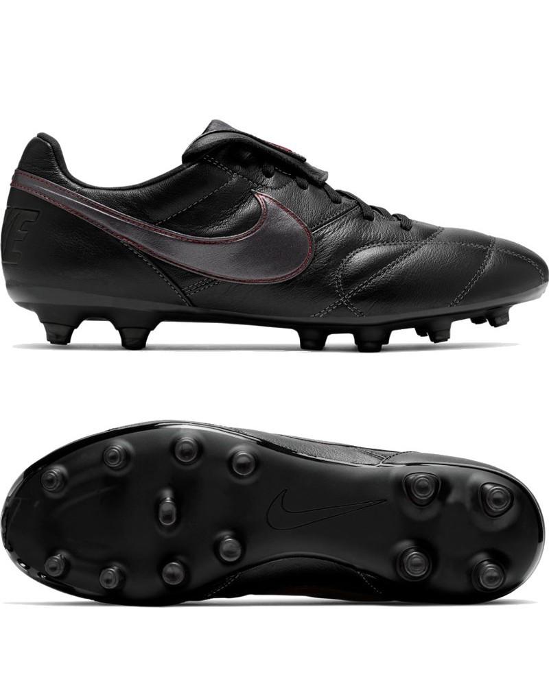 Nike Scarpe Calcio Football Premier II FG UOMO Nero Pelle di canguro 0