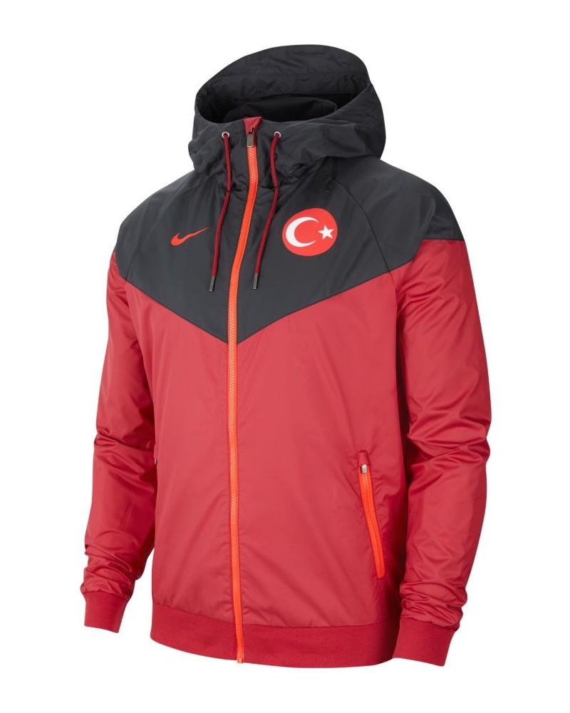 Turchia Turkey Nike Giacca sportiva Windrunner UOMO Nero 2020 21 Tempo Libero 0